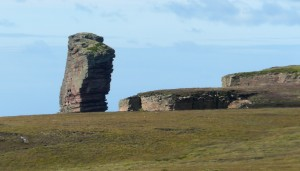 approaching Old Man of Hoy from Rackwick