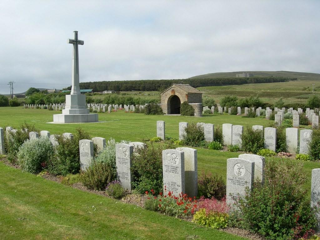 Lyness Royal Naval Cemetery