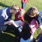 Archaeological Survey Training Plotting Measurements © Orkney Islands Council 2014