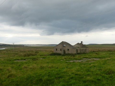Crockness Camp, site HY75