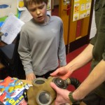 Hands-on learning about WWII © Orkney Islands Council 2014