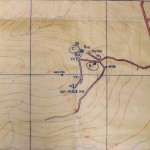 KOSB Defence Positions on Wee Fea © National Archives, ref. WO166/12598