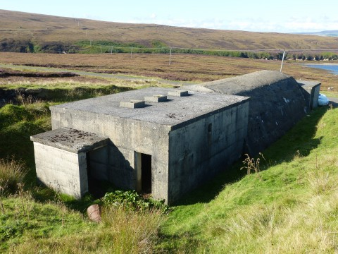 ND29NE 5 - Engine House near Muckle Rysa