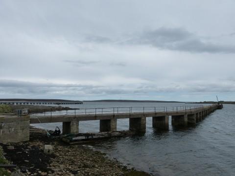 ND39SW 17 - West Pier, Lyness