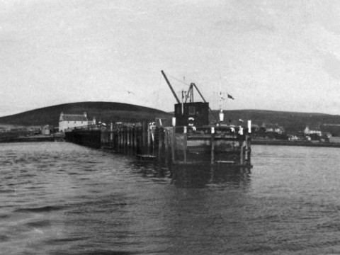 North Ness Pier © The National Archives ref. ADM116/5790