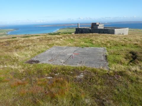 W065 - Concrete Base at RN Communication Centre