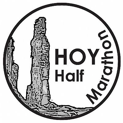 Hoy half marathon logo