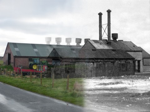 WWII Hoy Then & Now - RN Laundry, Lyness