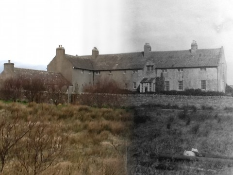 WWII Hoy Then & Now - Rysa Lodge