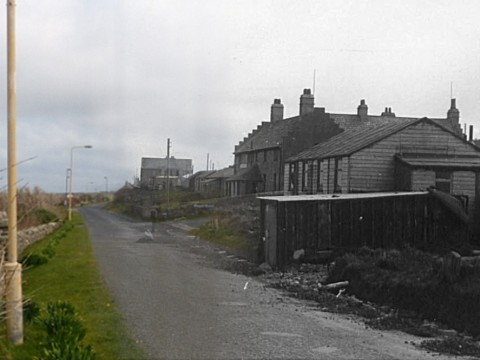 WWII Hoy Then & Now - The Royal Hotel, Longhope