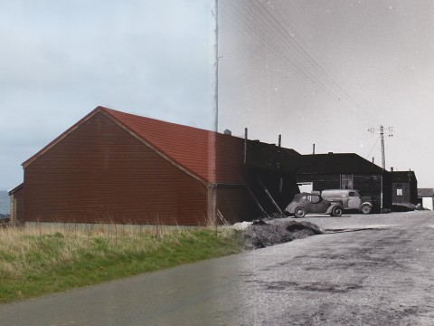 WWII Hoy Then & Now - The YM, Longhope