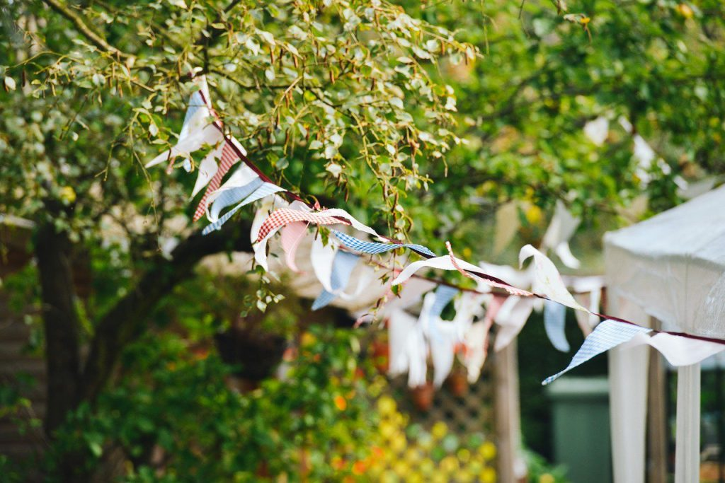 Garden Party Bunting